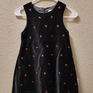 Gymboree Holiday Collection black dress